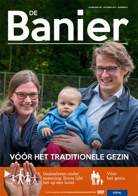 Banier oktober 2017 Voor het traditionele gezin