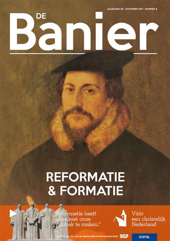 Banier november 2017 Reformatie en formatie
