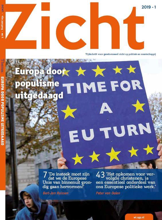 Zich april 2019 - Europa door populisme uitgedaagd