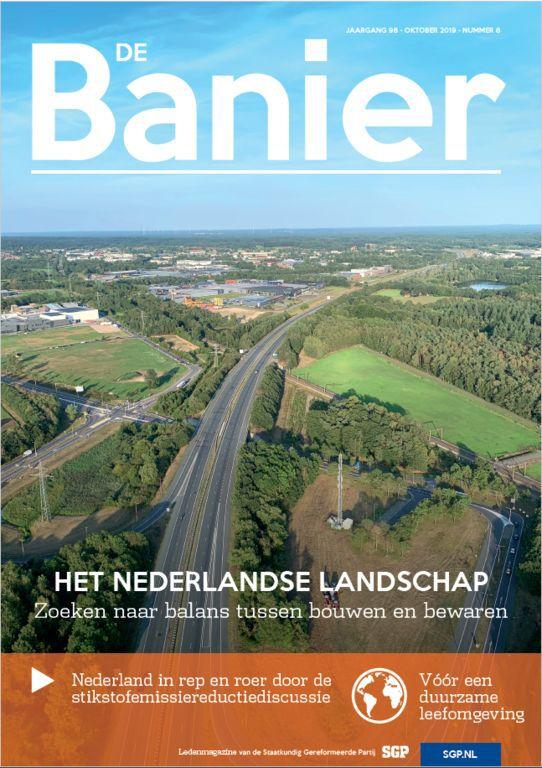 Banier oktober 2019 Het Nederlandse landschap