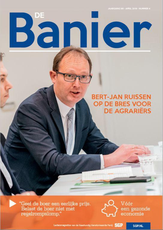 De Banier april 2019 De boer en de Europese Unie
