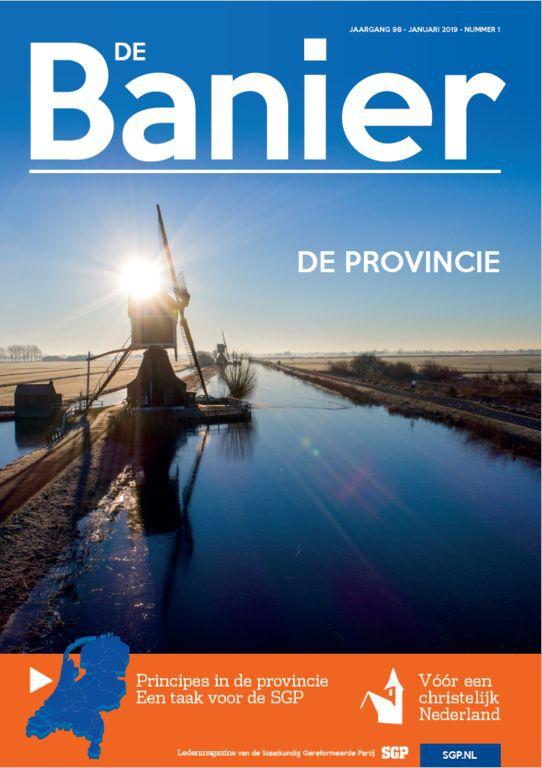 De Banier januari 2019 De provincie