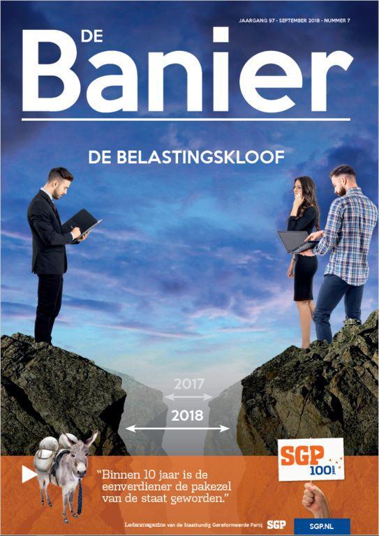 Banier september 2018 Belastingkloof