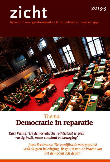 Zicht oktober 2013 Democratie in reparatie