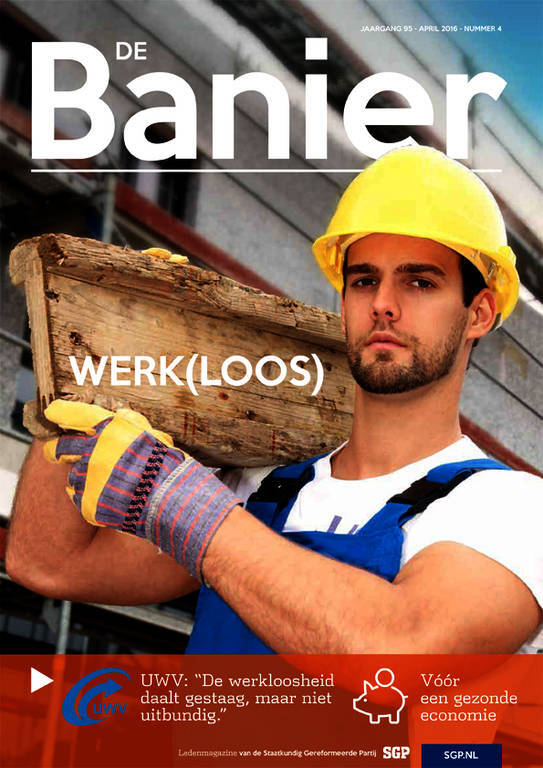 Banier april 2016 Werk(loos)