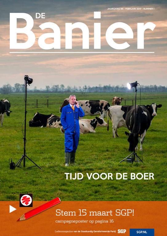 Banier februari 2017 Tijd voor de boer